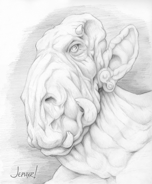 """Rose"" Pencil Sketch- Copyright 2012, Jephyr (Jeff Curtis), All Rights Reserved"