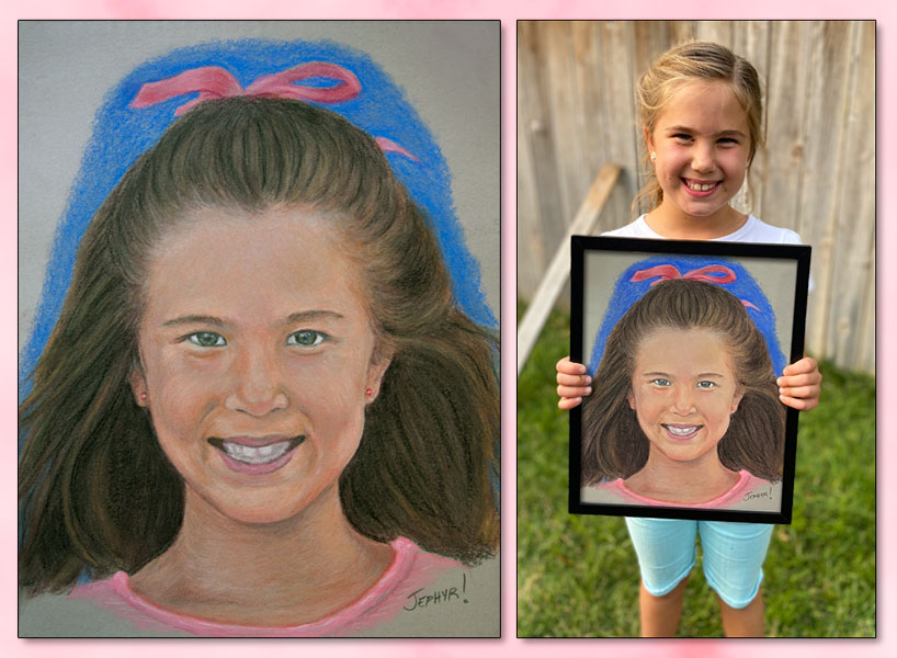 """BK4 - Pastel Birthday Portrait"" - Copyright 2020, Jephyr (Jeff Curtis), All Rights Reserved"