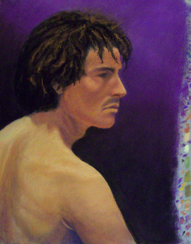 Image:  Copyright 2009, Jeff Curtis, All Rights Reserved.  Life Drawing III - Another pastel drawing for Portfolio 2.