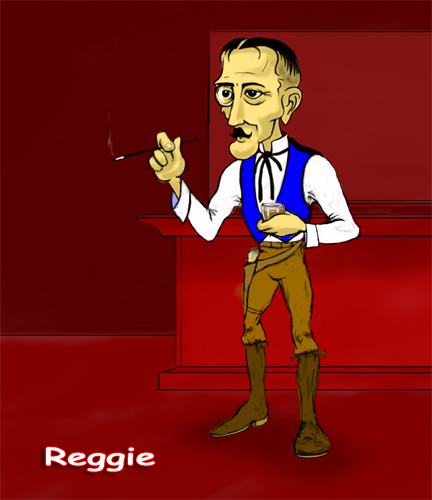 Image:  Copyright 2008, Jephyr (Jeff Curtis), All Rights Reserved. A Sketchbook Pro and Wacom Tablet Painting:  Reggie!